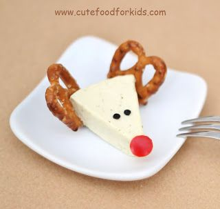 ♫ Rudolph the red-nosed reindeer  Had a very shiny nose  And if you ever saw it  You would even say it glows....... ♫                 Here...