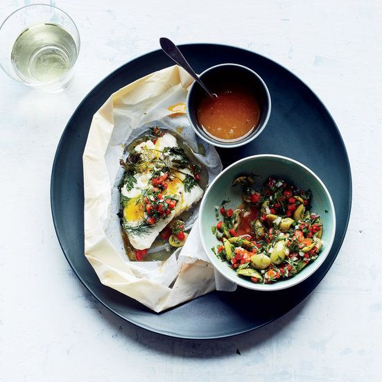 Grilled Fish Taco Recipes: Set out the components of this dish separately so your guests can assemble their own tacos ...