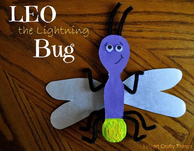 I HEART CRAFTY THINGS: Leo the Lightning Bug