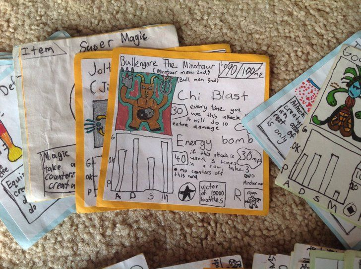 Pin for Later: These Brothers Were Too Poor to Buy Pokémon Cards Growing Up, So They Made Their Own