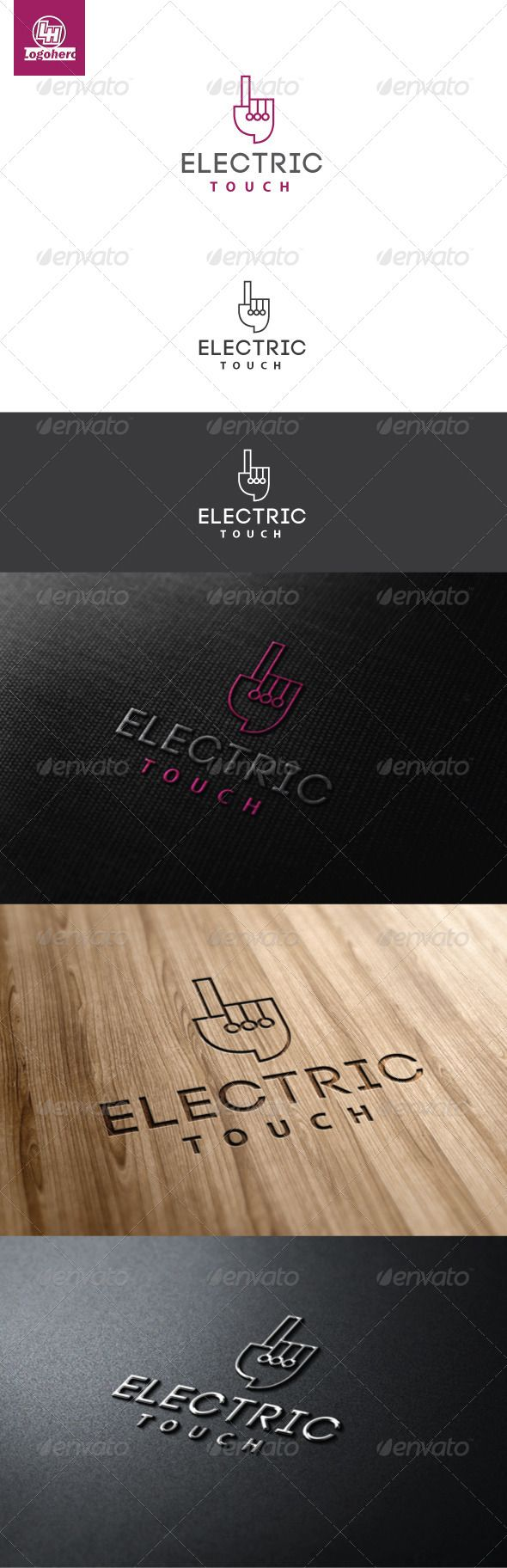 Electric Touch Logo Template #GraphicRiver Electric Touch Logo Template, An excellent logo template highly suitable for logo company, office, organization, studio, Production, program, club These files consists of resizable vector format files like AI, EPS , and PDF . Also PSD format for raster version alternative. font used Code Created: 30April13 GraphicsFilesIncluded: PhotoshopPSD #VectorEPS #AIIllustrator Layered: Yes MinimumAdobeCSVersion: CS Resolution: Resizable Tags: brand #cable…