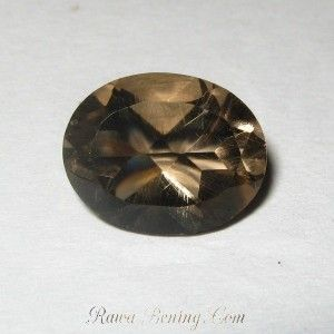 Smokey Quartz Oval 2.55 carat