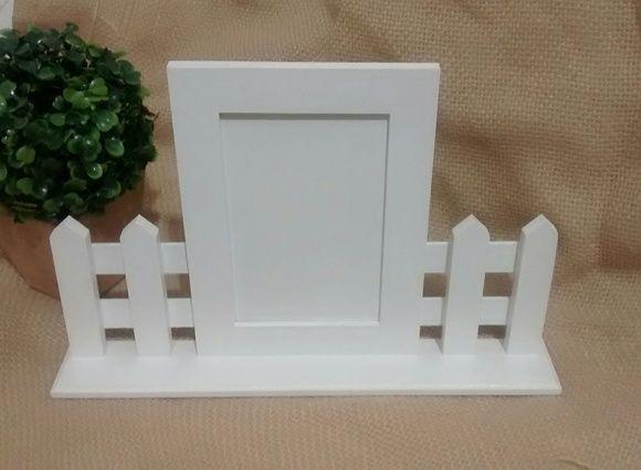 Porta Retrato Cerca Branca