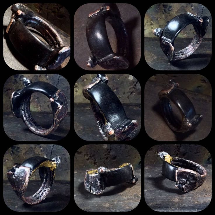 A personal favourite from my Etsy shop https://www.etsy.com/au/listing/523157340/mans-wedding-ring-buffalo-horn-winged