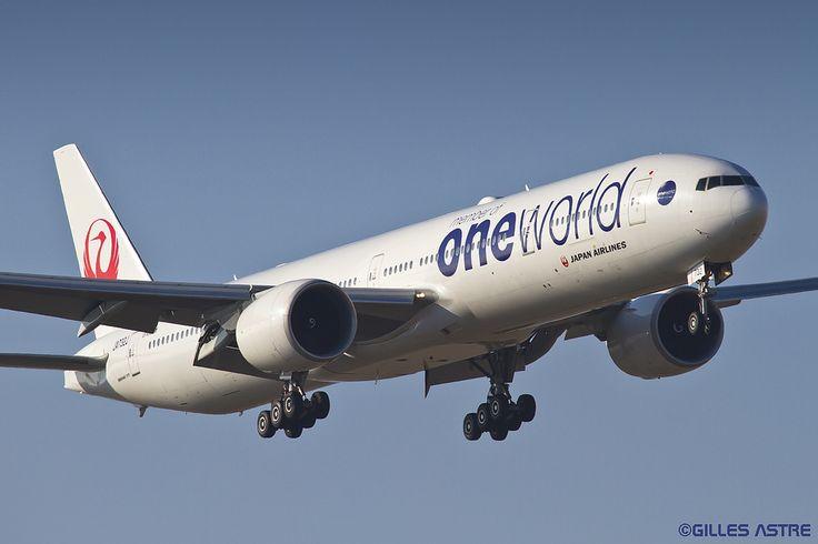 https://flic.kr/p/qAoE4t | LFPG 11 fevrier 2015 Boeing 777 JAL Oneworld JA732J