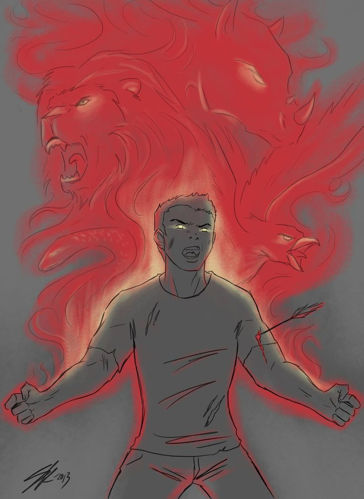Image result for dark!frank pjo fan art