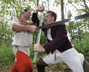 Great article on the misrepresentation of medieval sword fighting in pop-culture!  Swordfighting: Not What You Think It Is . . .