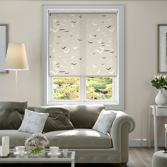 Flight Linen Roller Blind from Blinds 2go
