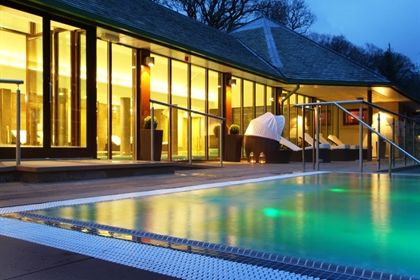 Armathwaite Hall Country House and Spa-great spa day today