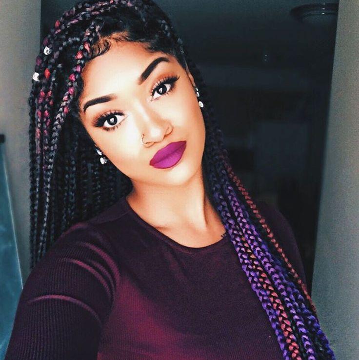 Nice Braids @thesmartista - http://community.blackhairinformation.com/hairstyle-gallery/braids-twists/nice-braids-thesmartista/