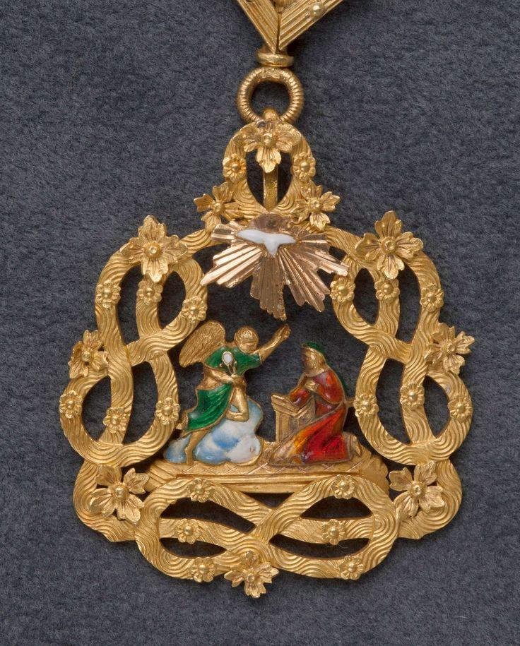 Pendente di un gran collare dell'Ordine della Santissima Annunziata