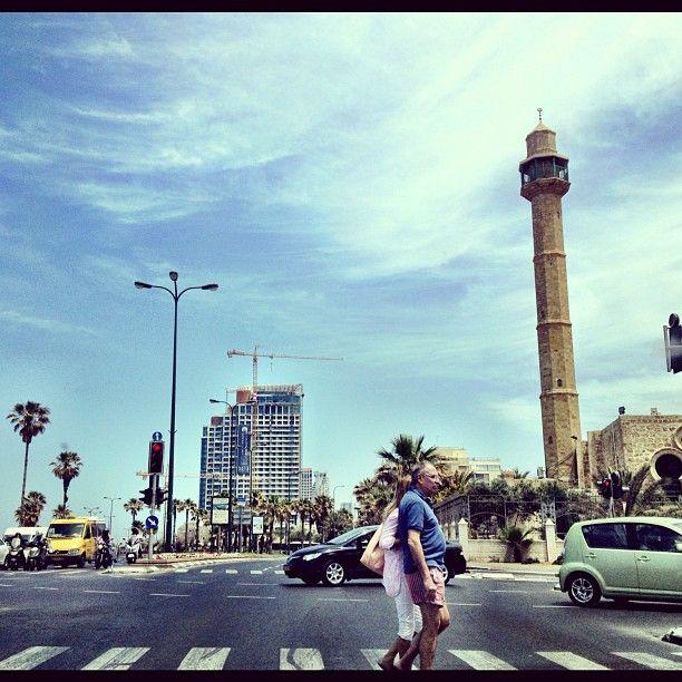 Tel Aviv (תל אביב) à תל אביב