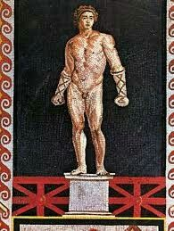 Melankomas- Ancient Greek Boxer, greatest Olympic Champion who had never been hit even once in his career.