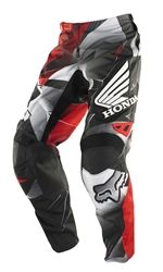 2014 Fox 180 Honda Youth Motocross Pants