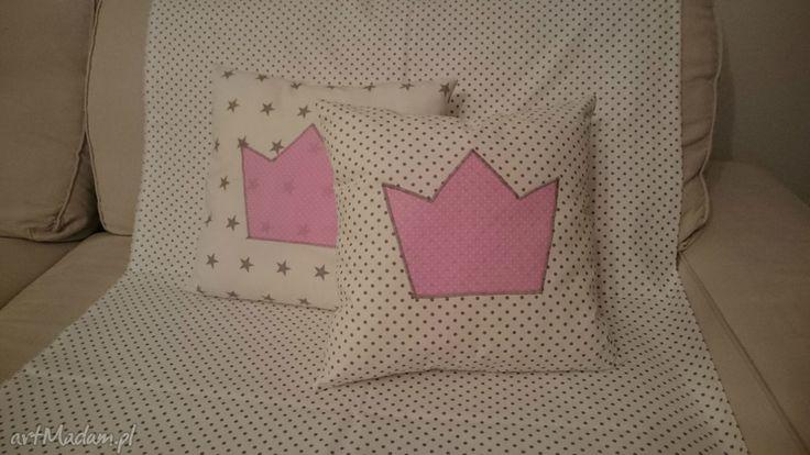 • Handmade pokoik dziecka, dla dziecka - poduszka księżniczki