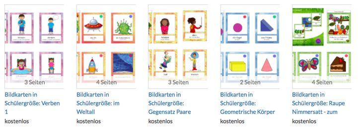 Mini Flashcards zum Vokabeln lernen für Deutsch als Zweitsprache ...