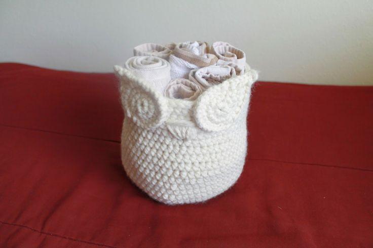 cute owl basket (free pattern)