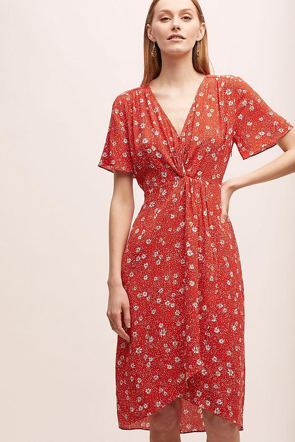 Floral Tea Dress Tea Dress Printed Wrap Dresses Floral Tea Dress