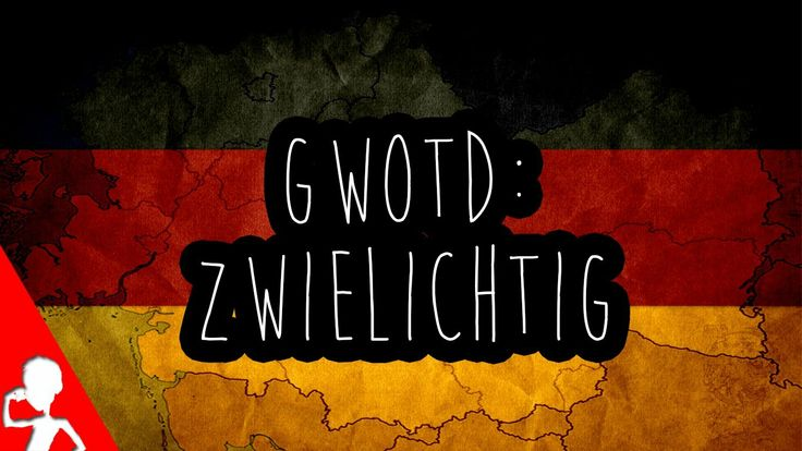 Today's #German word of the day is actually one of my personal favourites: zwielichtig | Do you know people who act zwielichtig sometimes and have you ever seen real #Zwielicht? :)  #gwotd