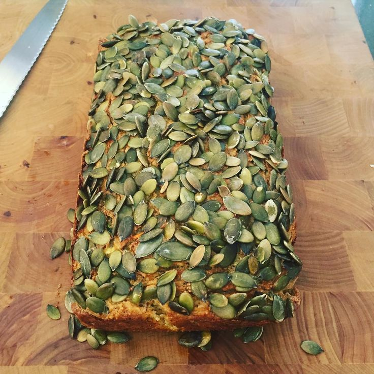 Pumpkin zucchini almond loaf 😋😋😋 #зож #stepfordwifeintraining #yummyformytummy