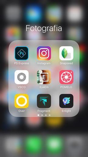 Fotografia com celular - apps