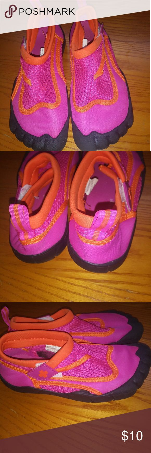 Girls water shoes Great condition. Only used once.. Lifeguard Shoes Sandals #WaterShoes