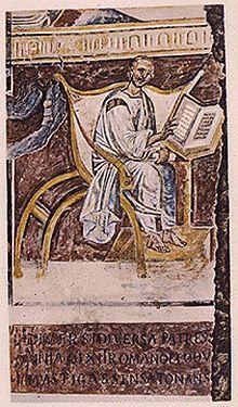 Augustinus van Hippo - Rome eind VIe eeuw Wikipedia