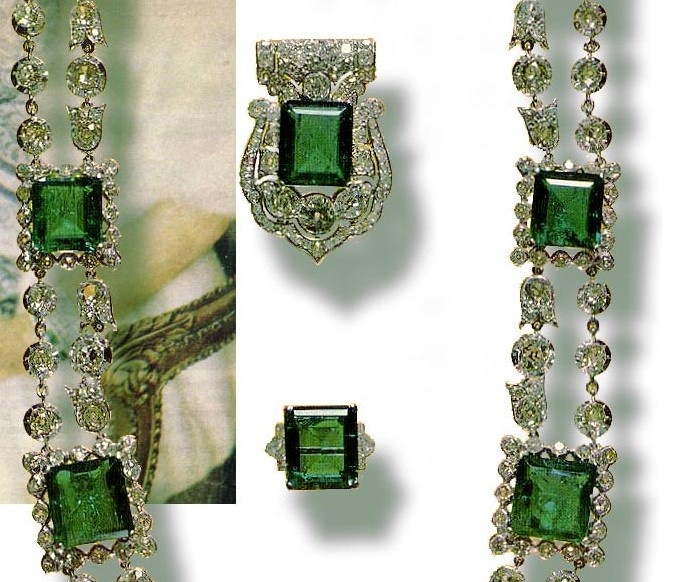 Emeralds of Queen Victoria Eugenia