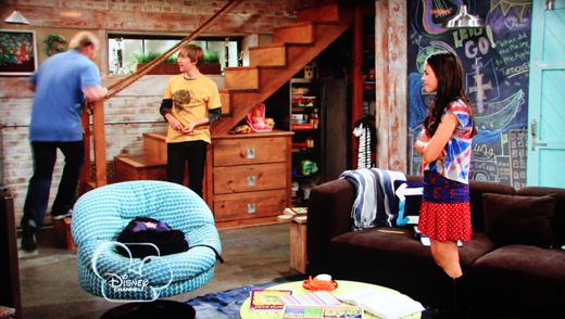 Good Luck Charlie Home Interior Basements