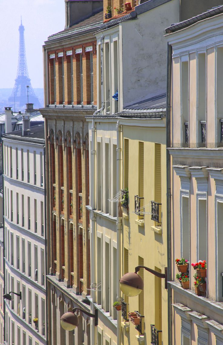 View from Belleville, Paris XIX