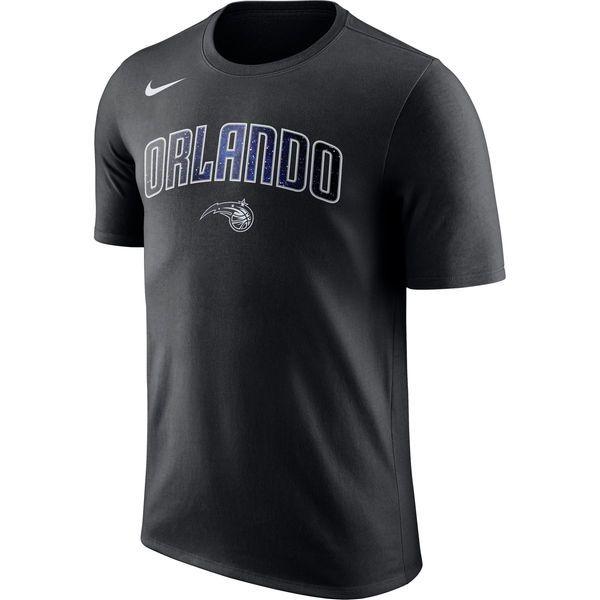 Men's Orlando Magic Nike Black City Edition Essential Performance T-Shirt