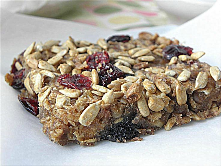 Oat & Fruit Breakfast Bars. These little beauties are substantial enough to make a meal or an on-the-go meal-snack, but they are dairy, sugar, flour, nut and gluten free. Wow...didn't know all that was possible :). Gotta try!
