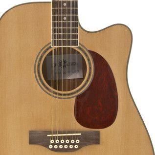 Dreadnought 12 String Electro Acoustic Guitar by Gear4music