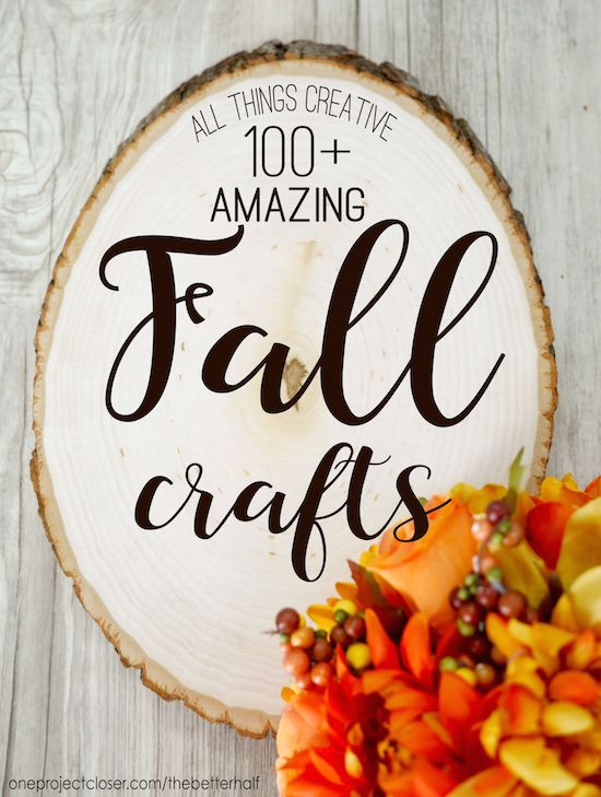 All Things Creative: Fall Crafts!