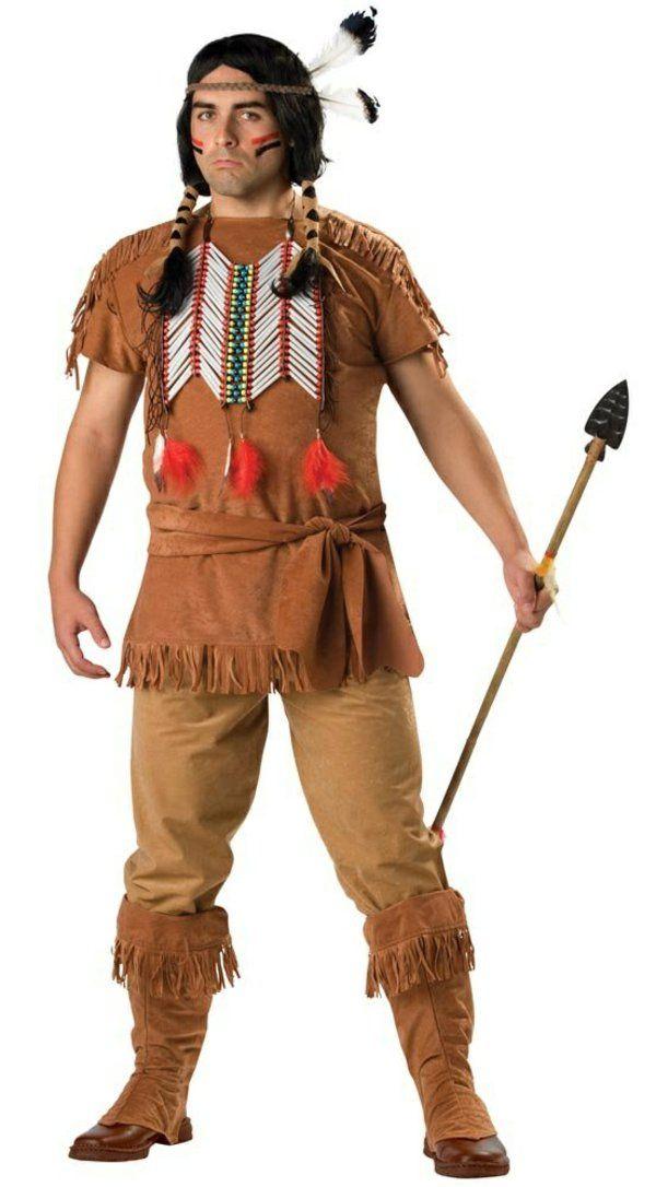 diy kleidung karnevalskostüme indianer motiv