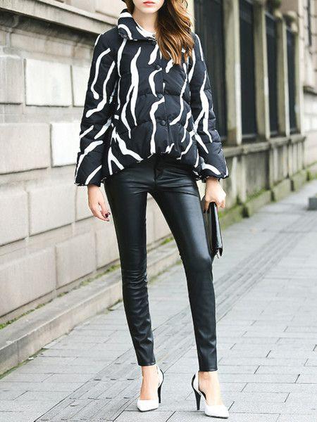 Printed Polyester Short coat