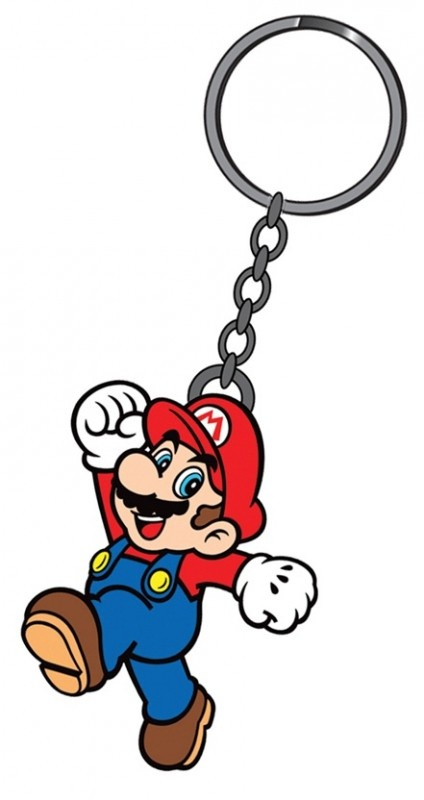 Nintendo Mario Rubber Keychain | Keychains | The A Factor Shop