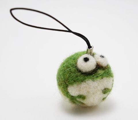 Mini Frog - Woolbuddy
