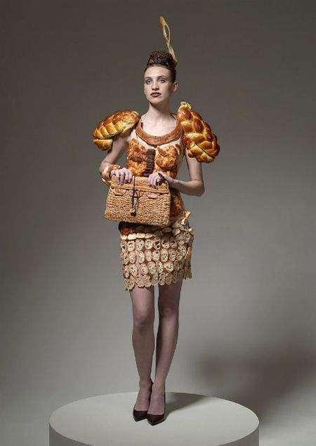 Clothes out of food