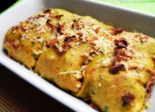 Naleśniki curry zapiekane - pyszne i dietetycznie (kliknij, aby zobaczyć przepis!)