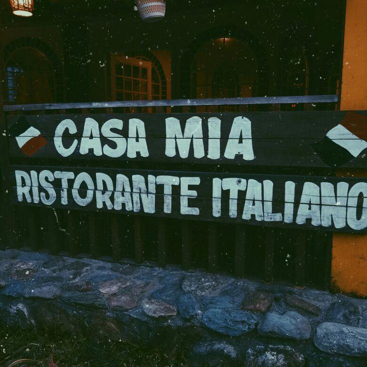 i love the Italian ambiance of this restaurant. CASA MIA RISTORANTE ITALIANO - Puerto Galera, Oriental Mindoro, Philippines.
