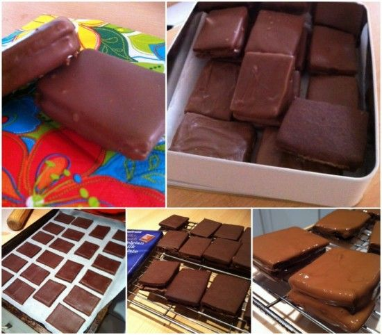 Home made Tim Tams Recipe