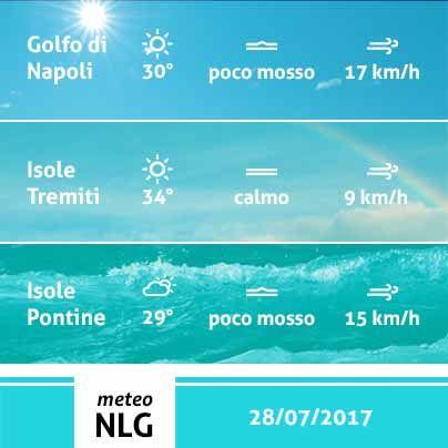 Buona serata a tutti! Bel tempo e clima tipicamente estivo per la giornata di domani sulle nostre citta` marine.