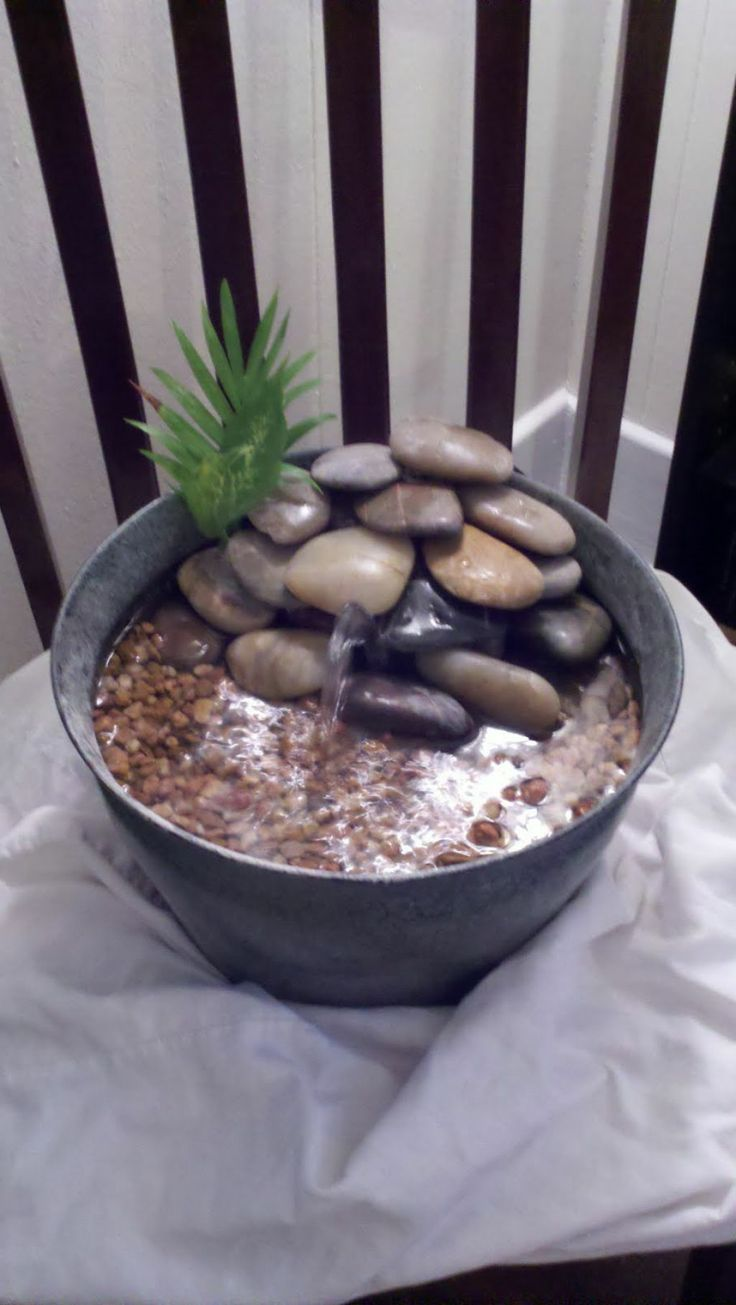 Diy Indoor Water Fountain Water fountains diy