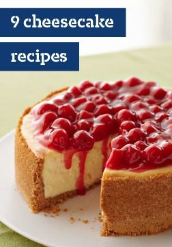 9 cheesecake recipes – Whether you've baked a hundred cheesecakes or are just starting out and need help with how to bake a cheesecake, we have the perfect cheesecake recipe for you.
