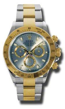 Rolex Daytona Grey Chronograph Steel And Yellow Gold  Mens Watch 116523GYSO US$13860
