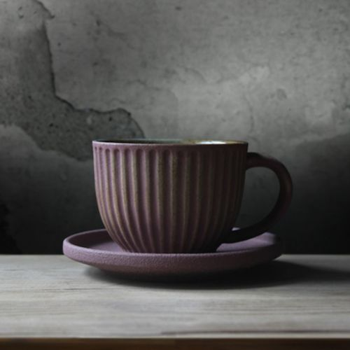 The Striped Stone Cup #Coffee-Cups