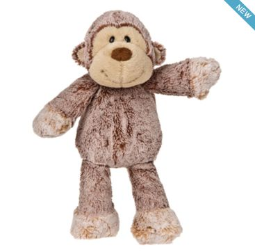 Marshmallow Monkey from Mary Meyer.  Available now at Bobangles.  #MaryMeyer #plush #toy #kids #cute #Australia #monkey