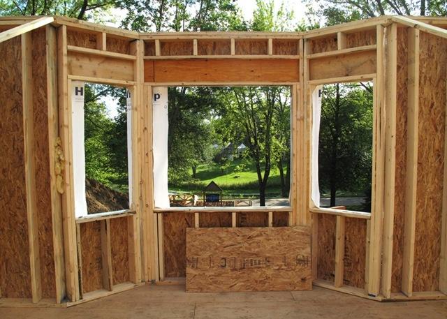 Bay Window Framing : Window frame bay framing