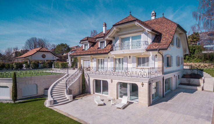 Luxury 11.5 room property on the lakefront - Luxury homes for sale St-Sulpice VD